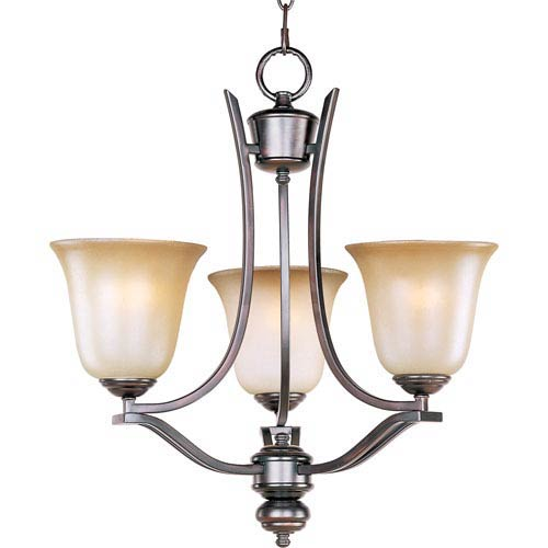Maxim Lighting International Madera Oil Rubbed Bronze Three-Light Chandelier