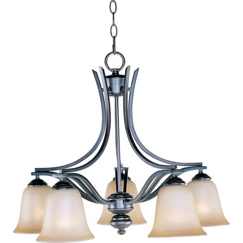 Maxim Lighting International Madera Oil Rubbed Bronze Five-Light Chandelier