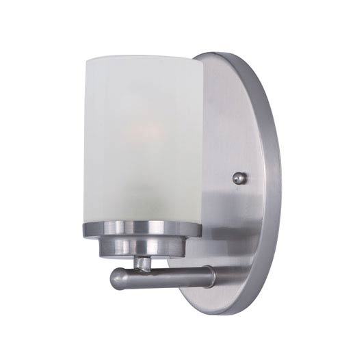 Maxim Lighting International Corona Satin Nickel One-Light Bath Vanity