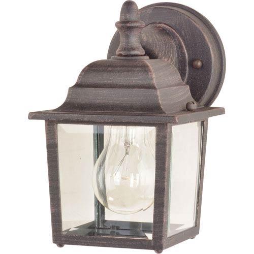 Maxim Lighting International Builder Cast Rust Patina One-Light Outdoor Wall Lantern