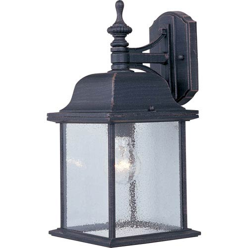 Senator Rust Patina One-Light Outdoor Wall Lantern