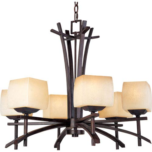 Maxim Lighting International Asiana Six-Light Chandelier