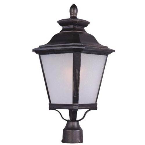 Maxim Lighting International Knoxville Bronze 11-Inch Wide One-Light Outdoor Post Mount