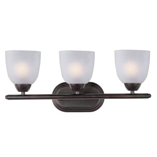 Maxim Lighting International Axis Oil Rubbed Bronze Three-Light Bath Vanity