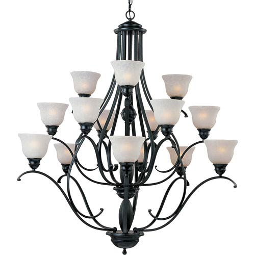 Maxim Lighting International Linda Fifteen-Light Chandelier
