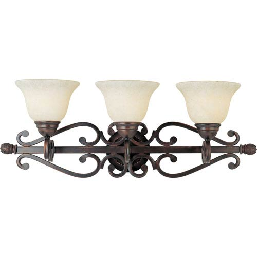 Maxim Lighting International Manor Oil Rubbed Bronze Three-Light Bath Fixture