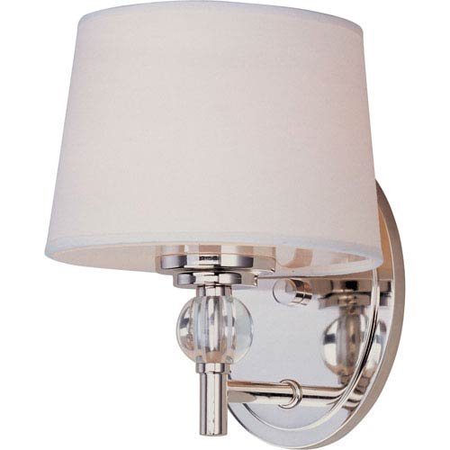 Rondo Polished Nickel One-Light Wall Sconce