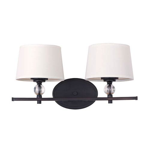 Maxim Lighting International Rondo Oil Rubbed Bronze Two Light Bath Vanity