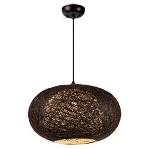 Bali Brown One-Light 15-Inch Pendant