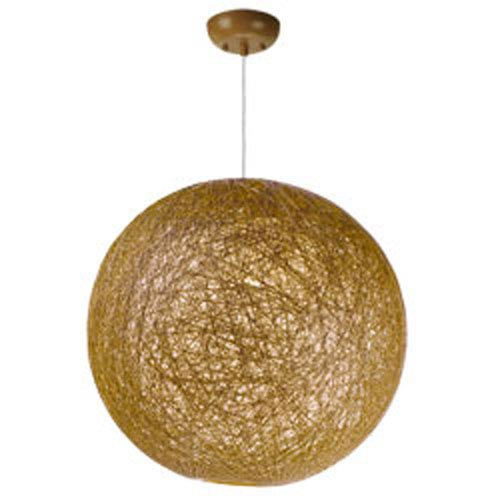 Bali Natural One-Light 19-Inch Pendant