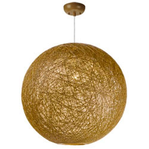 Bali Natural One-Light 24-Inch Pendant