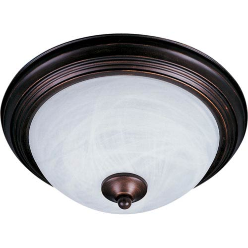 Outdoor Essentials Oil Rubbed Bronze One-Light Outdoor Ceiling Mount