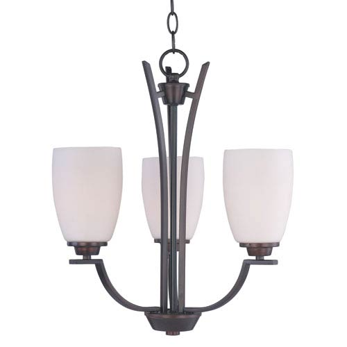 Maxim Lighting International Rocco Oil Rubbed Bronze Three-Light Chandelier