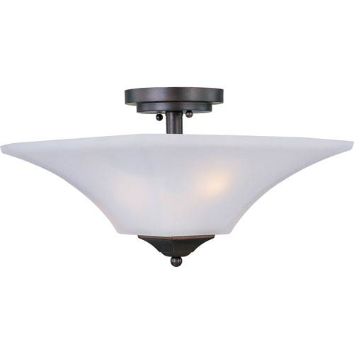 Aurora Two-Light Semi Flush