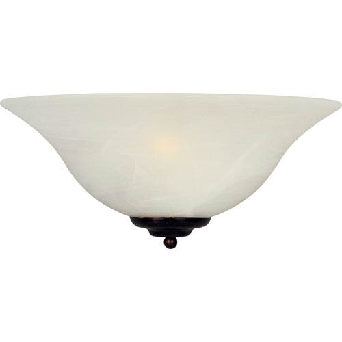 Essentials - 2058x Oil Rubbed Bronze One-Light Thirteen-Inch Wall Sconce