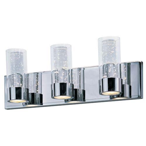 Maxim Lighting International Sync Polished Chrome Six-Light LED Bath Vanity