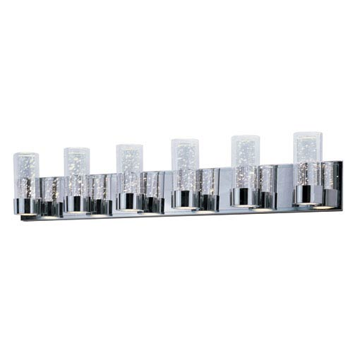 Sync Polished Chrome 12-Light LED Bath Vanity
