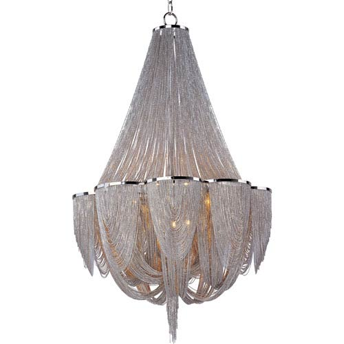 Maxim Lighting International Chantilly Twelve-Light Chandelier