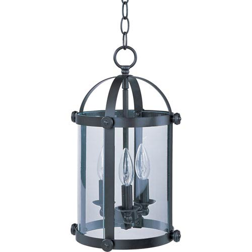 Maxim Lighting International Tara Bronze Three-Light Entry Foyer Pendant