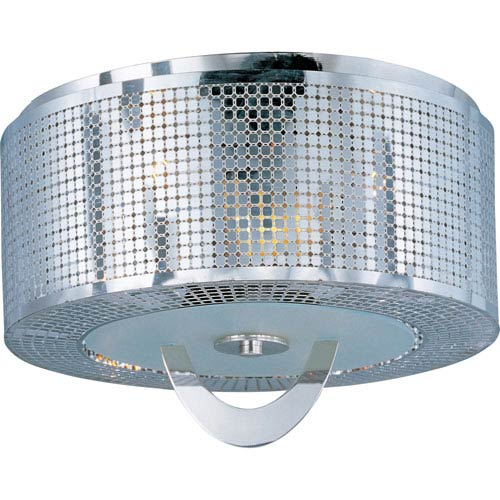 Maxim Lighting International Mirage Three-Light Flush Mount