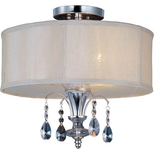 Maxim Lighting International Montgomery Three-Light Semi-Flush