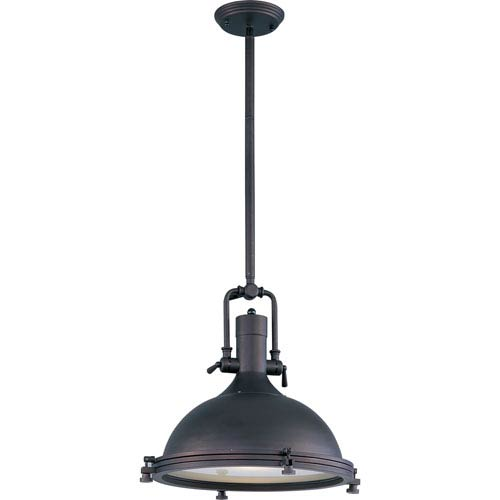 Maxim Lighting International Hi-Bay Bronze One-Light Pendant