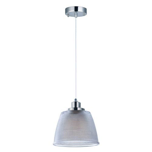 Retro Polished Nickel Seven-Inch LED Mini Pendant