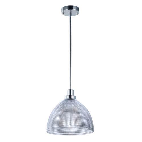 Maxim Lighting International Retro Polished Nickel 12-Inch LED Pendant