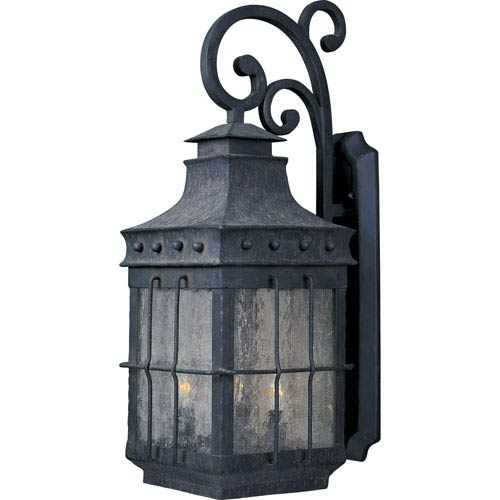Caged Outdoor Wall Lantern