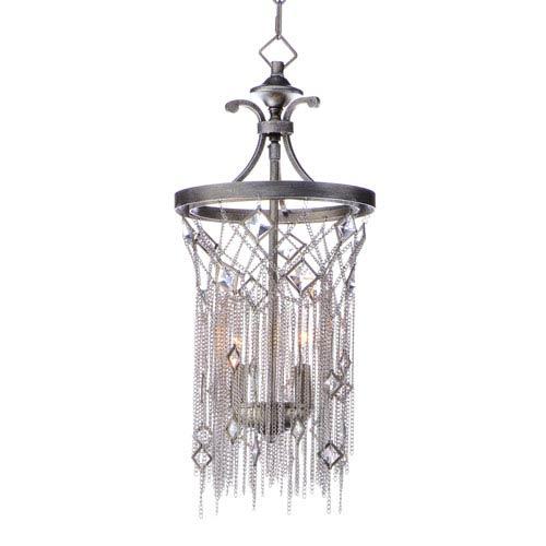 Maxim Lighting International Alessandra Silver Mist Two-Light Pendant