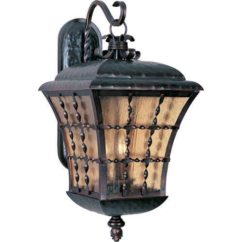 Orleans Large Three-Light Outdoor Wall Mount