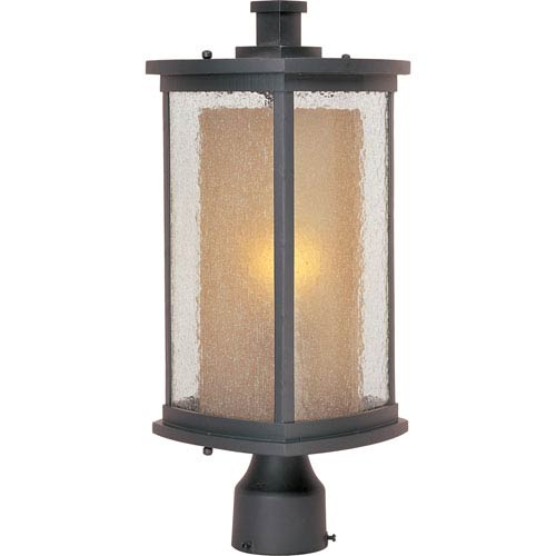 Bungalow Bronze One-Light Outdoor Post Mount