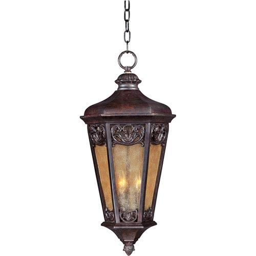 Lexington VX Colonial Umber Three-Light Outdoor Hanging Lantern