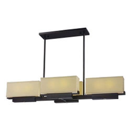 Maxim Lighting International Esquire Dark Bronze LED Eight-Light Linear Pendant