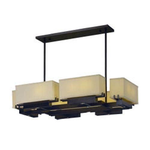 Maxim Lighting International Esquire Dark Bronze LED 12-Light 41-Inch Linear Pendant