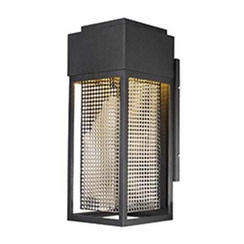 Maxim Lighting International Townhouse Galaxy Black LED One-Light Seven-Inch Outdoor Wall Mount