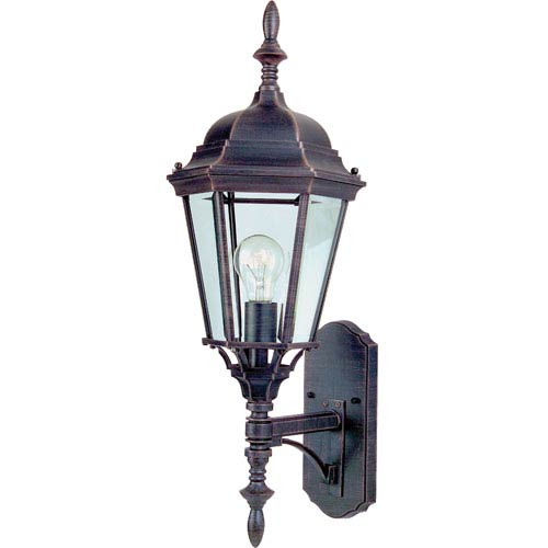Westlake LED Rust Patina One-Light Nine-Inch Outdoor Wall Sconce