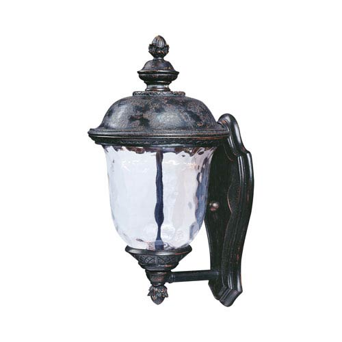 Maxim Lighting International Carriage House LED Oriental Bronze One Light  Nine Inch Outdoor Wall