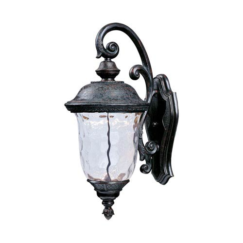 Maxim Lighting International Carriage House LED Oriental Bronze One Light  Twenty Inch Outdoor Wall