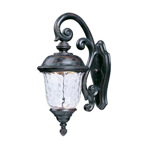 Carriage House LED Oriental Bronze One-Light Twelve-Inch Outdoor Wall Sconce