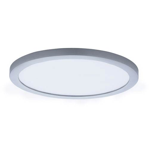 Maxim Lighting International Wafer LED Satin Nickel 10-Inch LED Flush Mount
