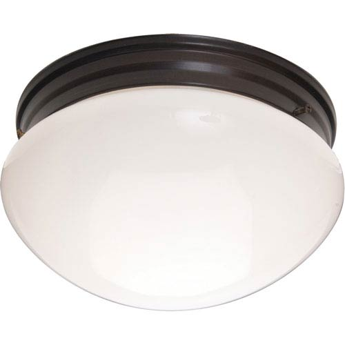 Maxim Lighting International Essentials Oil Rubbed Bronze Two-Light Flush Mount