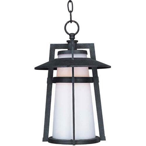 Maxim Lighting International Calistoga Adobe One-Light Fluorescent Outdoor Hanging Lantern