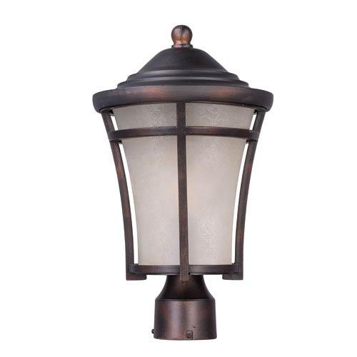 Balboa DC EE Copper Oxide One-Light Fluorescent Outdoor Post