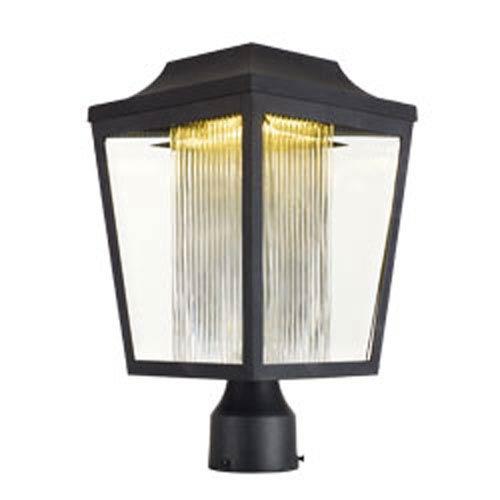 Maxim Lighting International Villa Anthracite LED One-Light 15-Inch Outdoor Post Mount
