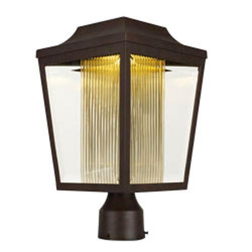 Maxim Lighting International Villa Adobe LED One-Light 15-Inch Outdoor Post Mount