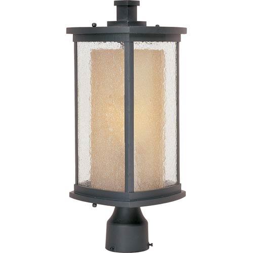 Maxim Lighting International Bungalow EE Fluorescent Bronze One-Light Outdoor Post Mount
