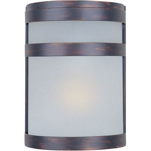 Maxim Lighting International Arc EE Fluorescent Oil Rubbed Bronze One-Light Outdoor Wall Mount