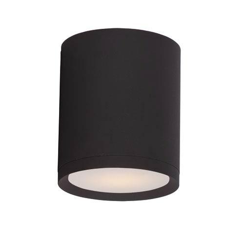 Maxim Lighting International Lightray Architectural Bronze 5-Inch Wide LED Flush Mount