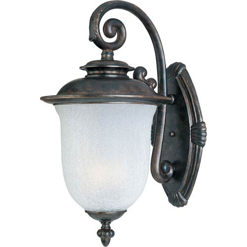 Maxim Lighting International Cambria EE Fluorescent Chocolate 10-Inch Wide One-Light Outdoor Wall Mount